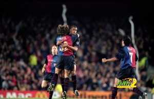 Carles Puyol, Rivaldo