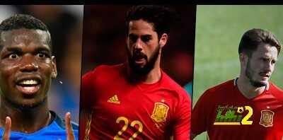 البركة فى الشباب …شعار مباراة فرنسا وإسبانيا الودية !