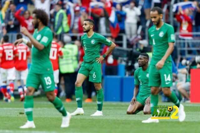 نتيجة بحث الصور عن منتخب السعودية امام روسيا